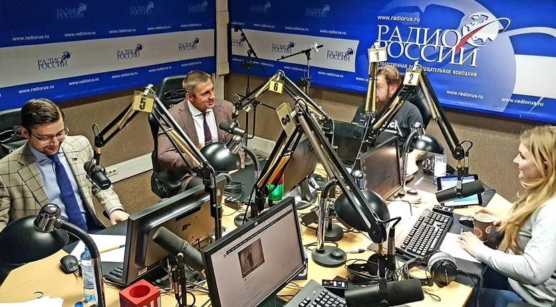 Выступление на Радио России