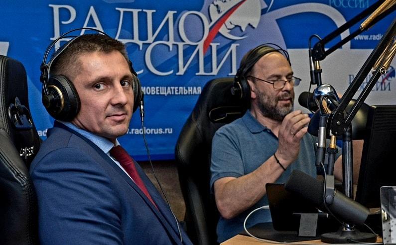 Интервью на радио